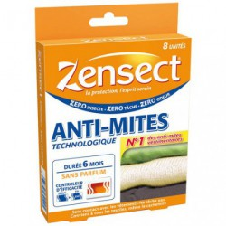 ZENSECT ANTI MITES TECHNOLOGIQUE X 8