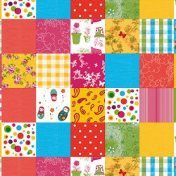 NAPPE TOILE CIREE MATCH QUILTING   140
