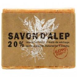 SAVON D'ALEP 180G 20%         ASALEP01
