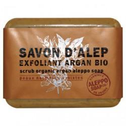 SAVON D ALEP EXFOLIANT A L ARGAN 100GR