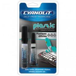 CYANOLIT PLASTIC 3G +4ML
