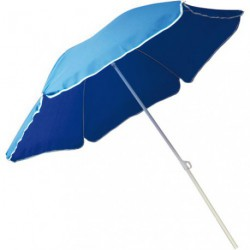 PARASOL D.200CM INCLINABLE BLEU