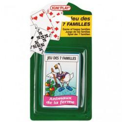 JEU DE 7 FAMILLES ASSORTIS          /P