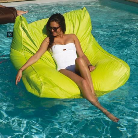 Pouf gonflable exterieur piscine anis maison de la droguerie for Pouf exterieur piscine