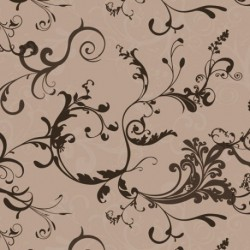 NAPPE OVALE 140X220 ARABES.SWIRL TAUPE