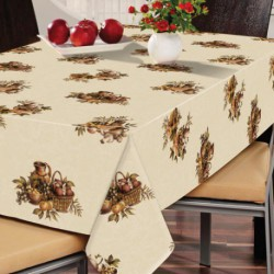 NAPPE TOILE CIREE FIB.OLD KITCHEN  140