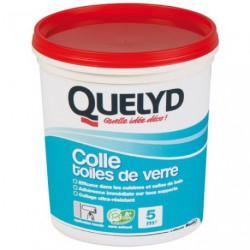 QUELYD COLLE TOILE DE VERRE 1KG