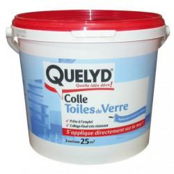 QUELYD COLLE TOILE DE VERRE 5KG