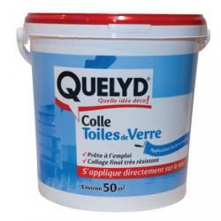 QUELYD COLLE TOILE DE VERRE 10KG