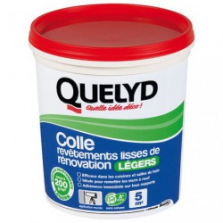 QUELYD COLLE REVETEMENTS LEGERS 1KG