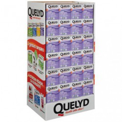 QUELYD COLLE P.PEINT VINYL 300G BOX/96