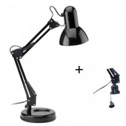 LAMPE DE BUREAU ARTICULEE TECHNO NOIR