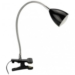 LAMPE PINCE LED TOM NOIR