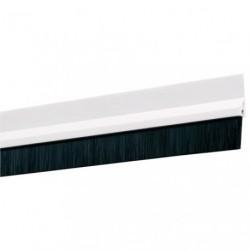 BAS DE PORTE ADH.PVC BROSSE 98CM BLANC