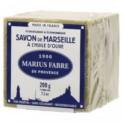 SAVON MARSEILLE HUILE OLIVE CUBE 200G