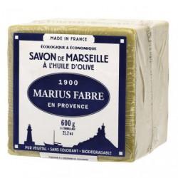 SAVON MARSEILLE HUILE OLIVE CUBE 600G