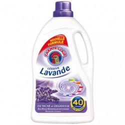LESSIVE LAVANDE 2.52L 40 LAVAGES