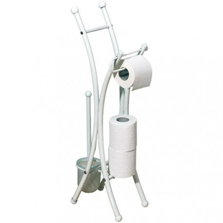 VALET WC CORFOU TUBE ROND BLANC