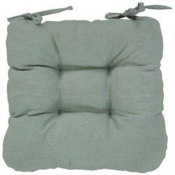 COUSSIN CHAISE GINEVRA GRIS 40X40X5
