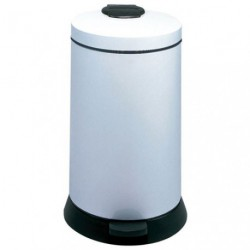 POUBELLE METAL 20L MAGIC BLANC