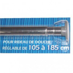 TRINGLE DOUCHE EXTENSIBLE ALU 105A185