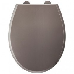 ABATTANT THERMODUR FALLY 2 TAUPE