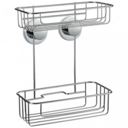 ETAGERE MURALE 2 NIV. CHROME LEGENDE