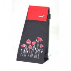 FLOWER POWER SAC NOIR RABAS ROUGE 55 L