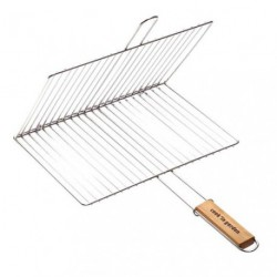GRILLE BARBECUE DOUBLE RECT.40X30CM