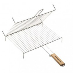 GRILLE BARBECUE DOUBLE 2POIGNEES 30X40