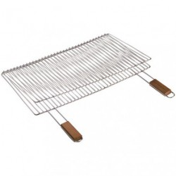 GRILLE BARBECUE DOUBLE RECT.60X40CM