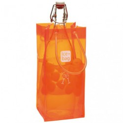 ICE BAG SAC SEAU CHAMPAGNE ORANGE