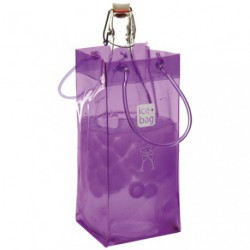 ICE BAG SAC SEAU CHAMPAGNE VIOLET