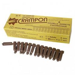 CHEVILLE CRAMPON 4/7 BTE 100    133105