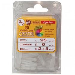 CHEVILLE CRAMPON CRISTAL 2/5 SC 20P