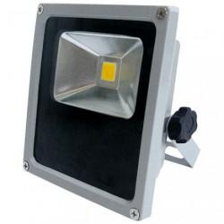 PROJECTEUR LED 10W COMPACT GRIS