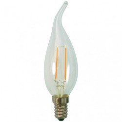LED FILAM.FLAM.CDV 2.3W E14 250LM CLAI