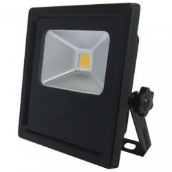 PROJECTEUR LED COMPACT 10W NOIR