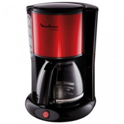 CAFETIERE SUBITO 10/15 TASSES ROUGE
