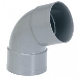COUDE PVC FF D. 32 87D