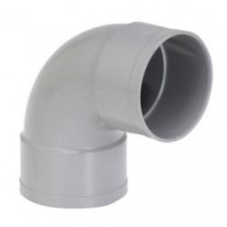 COUDE PVC FF D.100 87D