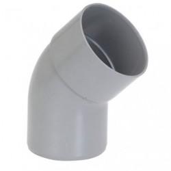 COUDE PVC MF D.100 45D