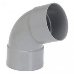 COUDE PVC FF D.100 67D
