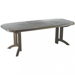 TABLE VEGA 100X220 CM TAUPE