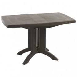 TABLE VEGA PLIANTE 118X77 TAUPE