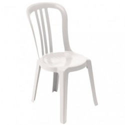 CHAISE MIAMI BISTROT BLANC