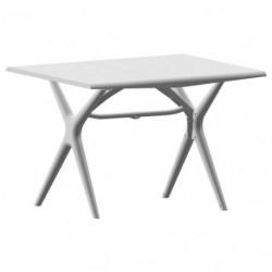 TABLE SIGMA PLIANTE 115X75 BLC GLACIER