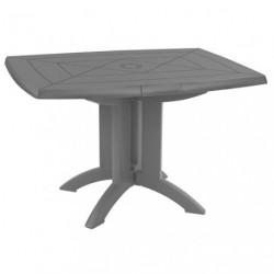 TABLE VEGA PLIANTE 118X77 ANTHRACITE*G