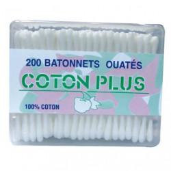 COTON TIGE BOITE 200 BATONNETS