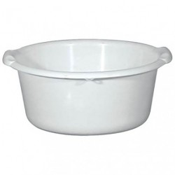 BASSINE RONDE 20L D43 BLANC ALIMENTAIR